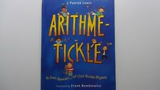 Arithme-Tickle by J. Patrick Lewis   Hardback  2002  FIRST EDITION  Illustrated