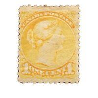 1870 Canada Stamp # 35 Mint OG H $60