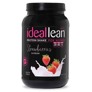 IdealLean - Nutritional Protein Powder For Women | 20g Whey Protein Isolate |...