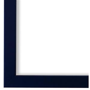 Bilderrahmen Saphir Blau Holz Asti 1,7 - DIN A2 - DIN A3 - DIN A4 - DIN A5
