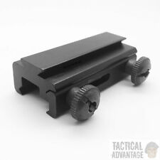 20 mm Weaver - 11 mm queue d'aronde QD rail Base Mount Adapter Convertisseur Picatinny UK