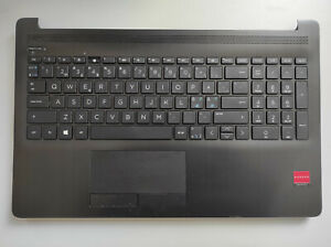 HP Notebook 15-DB 15-DB0025NO Palmrest with Touchpad and Keyboard AP29M000A00