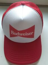 c3cc932e MEN'S VINTAGE BUDWEISER MESH SNAPBACK HAT. ONE SIZE FITS ALL