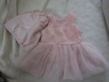 Pippa & Julie, Pink Dress W/Panties, 6 Months