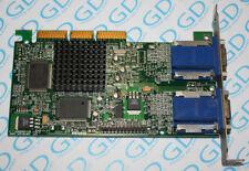 MATROX 971-0302 G450 32mb DUAL VGA MGI g45+ MDHA 16dlxb VIDEO CARD G45FMDHA32DB