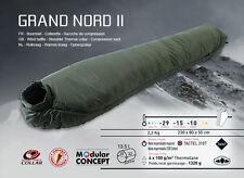Wilsa grand nord militaire armée extreme 4 saison 5 camping sac de couchage vert nouveau