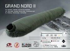 Wilsa Grand Nord Military Army Extreme 4 5 Season Camping Sleeping Bag Green NEW
