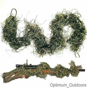 Rifle Rag Ghillie 3d Camouflage Cover Bow Wrap Sniper Airsoft paintball Yowie UK