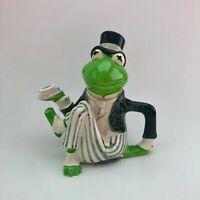Rare Vintage Kermit The Frog Teapot Sigma Tastesetter Or Creamer Pot Muppets