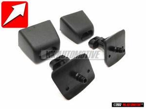 Genuine VW SET Headlight Washer Nozzle Carriers Caps - Golf/Jetta MK3