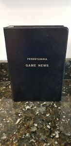 PA PENNSYLVANIA GAME NEWS VINTAGE MAGAZINES FOR 1975 COMPLETE YEAR w BINDER
