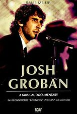USED  DVD // JOSH GROBAN - RAISE ME UP //  MIX OF INTERVIEWS AND SONGS