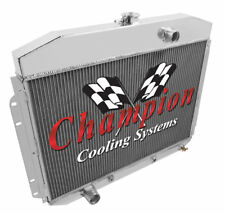 3 Row Queen Champion Radiator for 1961 - 1964 Ford F-Series Factory V8 Engine