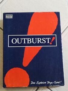 Outburst von Parker Das explosive Tempo-Spiel Gesellschaftspiel- Brettspiele 199