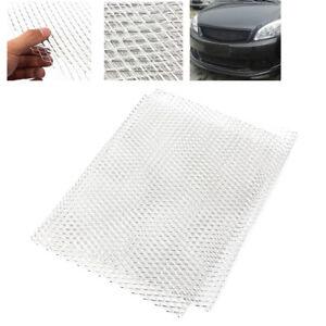 "Universal Silver Car Grille Mesh Aluminium Alloy Net Vent Tuning Grill 40"" x 13"""