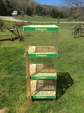 Schweppes Ginger Ale Display, Four Tiered Advertising Display, Plastic
