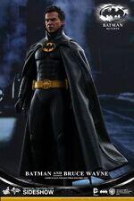 Hot Toys 1 6 Scale Batman and Bruce Wayne Returns Figure Set Black