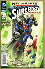 Superboy Annual #1-2013 nm+ 9.6 New 52 Superman / Justice League