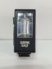 Sunpak GX 17 Camera / Camcorder Flash Light