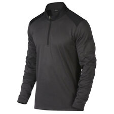 Oakley Golf 2017 Mens Range Pullover 1/4 Zip Sweater Jumper M Blackout