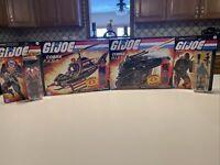 GI Joe Retro Cobra HISS Tank , FANG Copter , Roadblock, Destro Walmart Excl