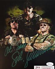 SGT SLAUGHTER Autographed Photo 8x10 Signed JSA COA 441 WWE WWF HOF GI JOE