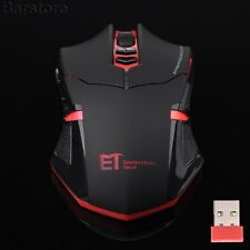 2.4GHz 2400DPI Wireless 7Button Optical Pro Gaming Mouse Mice Fr Laptop Notebook