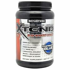 Scivation Xtend Formula Intra Workout Catalyst BCAAs 1152g 90 Serving Refreshing Blue Raspberry