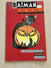 Perfect, Never Read...Batman: The Long Halloween #1