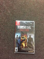 Resident Evil Triple Pack Nintendo Switch Brand New Sealed
