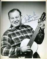 Burl Ives Vintage Jsa Coa Hand Signed 8x10 Photo Authenticated Autograph