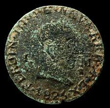 Fernando VII, 1 Maravedi de Pamplona 1826 - 17 mm / 1,42 gr