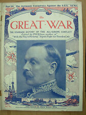 THE GREAT WAR 1914-18 PART 84 MARCH 25th 1916 GERMAN CONSPIRACY AGAINST THE USA