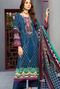 Ittehad Fall'20 Linen Series Design 1606A Stitched Original Suit