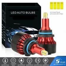 2x CSP Chip 9006 HB4 LED Headlight Bulb 680000LM 8-Side Fog Lamp 6500K Car Light