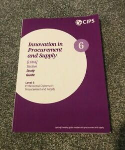 CIPS Innovation in Procurement and Supply - L6M8 Study Guide