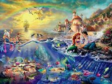 Disney's The Little Mermaid Puzzle by Thomas Kinkade (750 Pieces)
