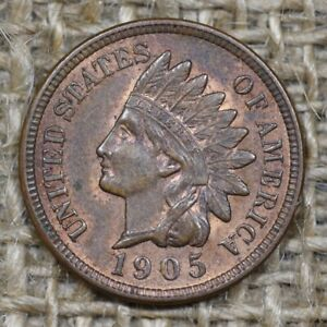 1905 1C Indian Head Penny Cent