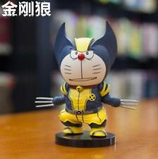 Doraemon cosplay X-MEN PVC figure figures manga doll car figurine toy cute