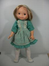 Vintage Fisher Price My Friend Doll #211 Mandy Green Rosebud Dress 1978