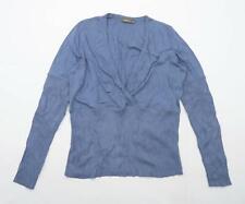 Sandwich Womens Size XL Cotton Blue Top (Regular)
