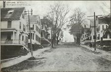 Somersworth NH Highland St. Homes c1915 Postcard