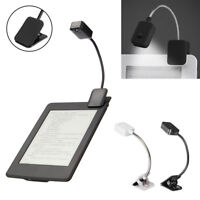 Eyes Protect Flexible Folding LED Clip On Book Light Lamps Read For Kindle Paper