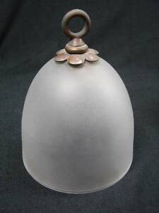 VICTORIAN  SATIN GLASS SMOKE BELL FOR OIL LAMP / INTERIOR DECORATION 5 AVAILABLE