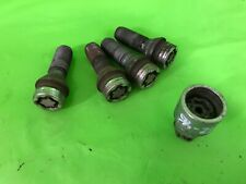 MERCEDES E CLASS E280 W211 LOCKING WHEEL NUTS WITH KEY 2006-2009