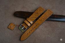 19 mm Cinturino zampa struzzo Vintage Ostrich Leg Watch Strap Handmade bracelet
