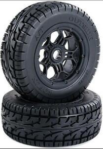 All terrain ATV wheel tyre for Losi 5ive-t DBXL SLT/V5/5S 190*70mm