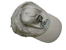 H & M tolle Schirm Mütze Gr. 74 weiß mit sitzendem Snoopy Motiv !!