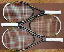 3 - Head Intelligence i.X3 OS Tennis Racquets 2- 4-1/2, 1- 4-3/8 Bag Grommet Set