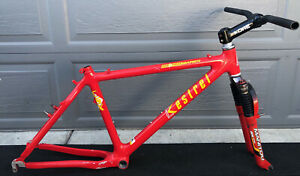 Kestrel CSX Carbon Fiber Mountain Bike Retro MTB Handmade in Santa Cruz Cali USA